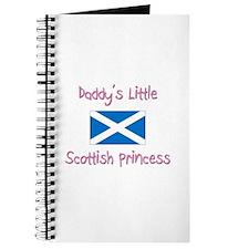 Daddy's little Scottish Princess Journal