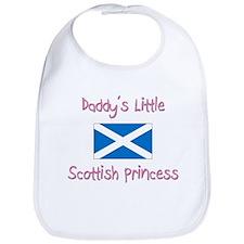 Daddy's little Scottish Princess Bib
