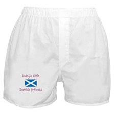 Daddy's little Scottish Princess Boxer Shorts