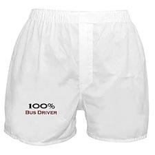 100 Percent Bus Driver Boxer Shorts