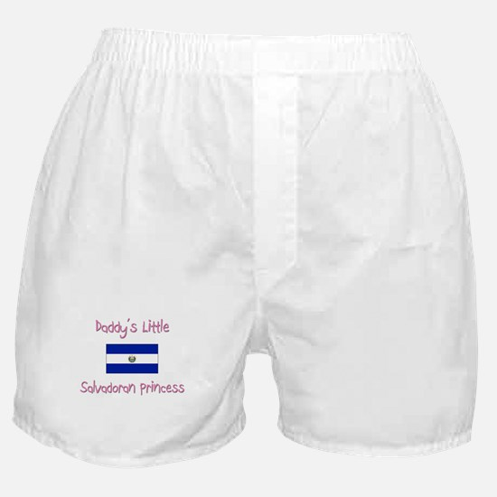 Daddy's little Salvadoran Princess Boxer Shorts