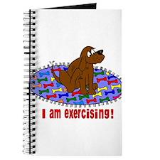 Cute Walking fat Journal