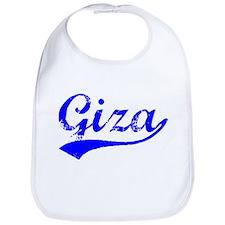 Vintage Giza (Blue) Bib