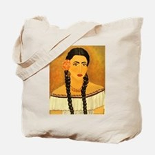 Frida inspired Carry-All canvas Tote Bag