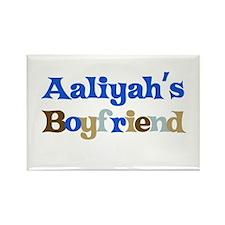Aaliyah's Boyfriend Rectangle Magnet