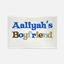 Aaliyah's Boyfriend Rectangle Magnet