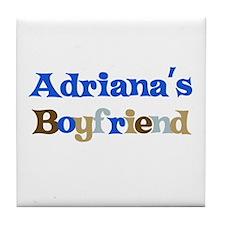 Adriana's Boyfriend Tile Coaster