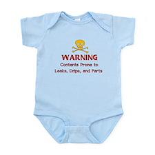 Leaks Drips Farts Infant Bodysuit