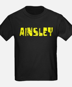 Ainsley Faded (Gold) T