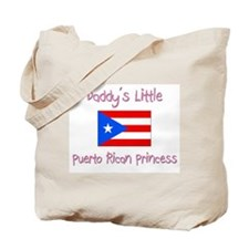Daddy's little Puerto Rican Princess Tote Bag