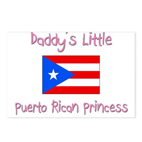 Daddy's little Puerto Rican Princess Postcards (Pa