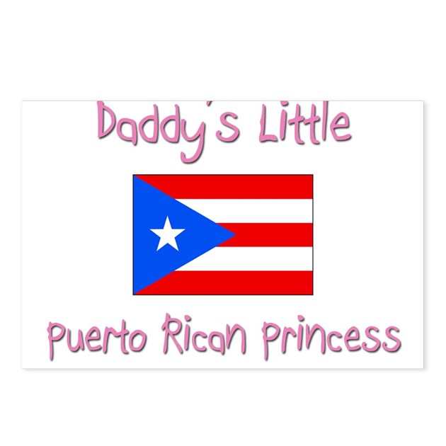 Daddy S Little Puerto Rican Princess Postcards Pa By