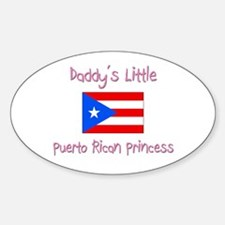 Daddy's little Puerto Rican Princess Decal