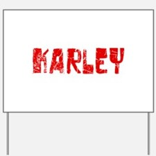 Karley Faded (Red) Yard Sign