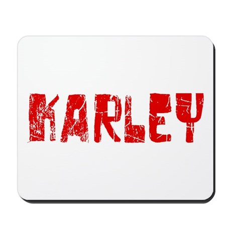 Karley Faded (Red) Mousepad