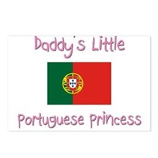 Daddy's little Portuguese Princess Postcards (Pack