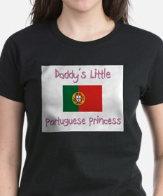 Daddy's little Portuguese Princess Tee