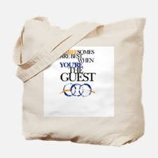 Threesomes are best when you're the guest Tote Bag