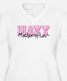 NAVY MotherNlaw- Jersey Style T-Shirt