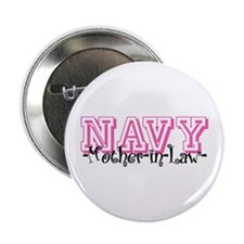 """NAVY MotherNlaw- Jersey Style 2.25"""" Button"""
