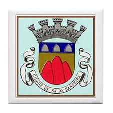 Sa da Bandeira Tile Coaster (Azulejo)