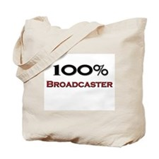100 Percent Broadcaster Tote Bag