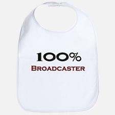 100 Percent Broadcaster Bib