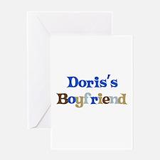 Doris's Boyfriend Greeting Card