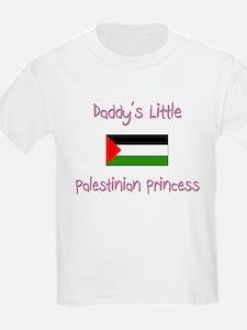 Daddy's little Palestinian Princess T-Shirt