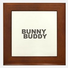 BUNNY BUDDY Framed Tile