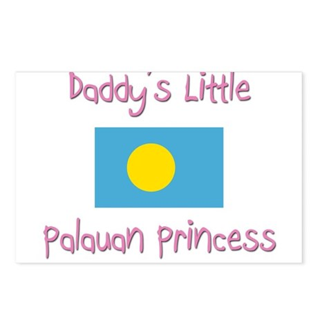 Daddy's little Palauan Princess Postcards (Package