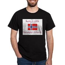 Daddy's little Norwegian Princess T-Shirt