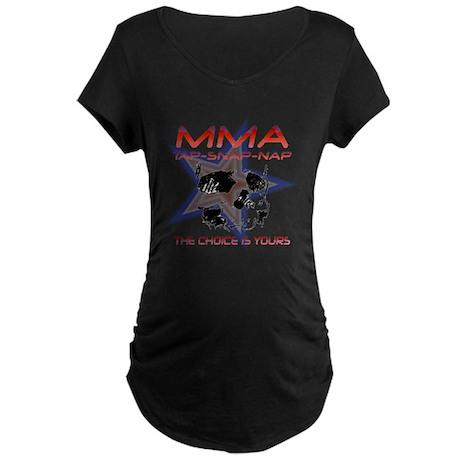 MMA Shirts and Gifts Maternity Dark T-Shirt