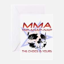 MMA Shirts and Gifts Greeting Card