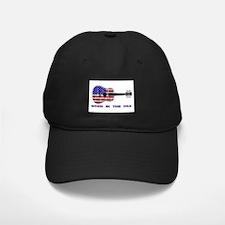 Born In The USA Guitar Baseball Hat