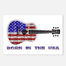 Born In The USA Guitar Postcards (Package of 8)