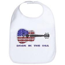 Born In The USA Guitar Bib