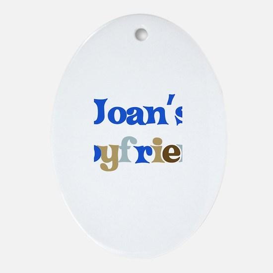 Joan's Boyfriend Oval Ornament
