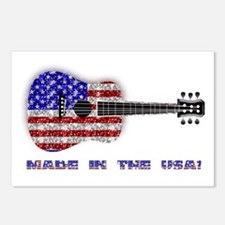 Made In The USA! Guitar Postcards (Package of 8)