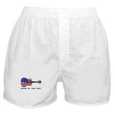 Made In The USA! Guitar Boxer Shorts