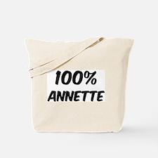 100 Percent Annette Tote Bag