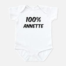 100 Percent Annette Infant Bodysuit