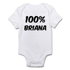 100 Percent Briana Infant Bodysuit