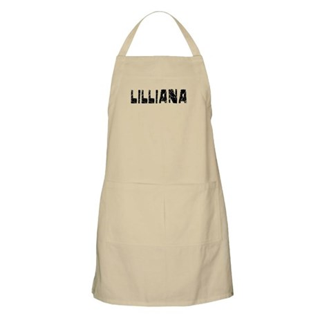 Lilliana Faded (Black) BBQ Apron