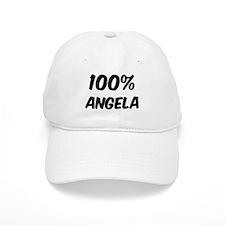 100 Percent Angela Baseball Cap