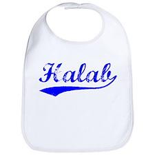 Vintage Halab (Blue) Bib