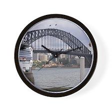 Sydney Harbor Bridge Photo Wall Clock