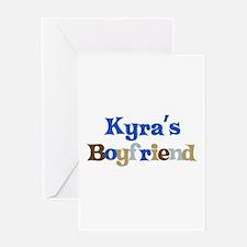 Kyra's Boyfriend Greeting Card
