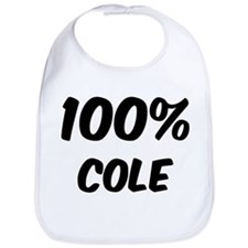 100 Percent Cole Bib