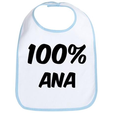 100 Percent Ana Bib